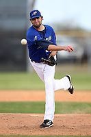 March 22, 2010:  Pitcher Jim Ed Warden (31) of the Long Island Storm during a game at the Carl Barger Training Complex in Melbourne, FL.  Photo By Mike Janes/Four Seam Images