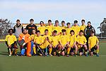 Taranaki Team Photo. Round 3. Men's U18 Hockey Nationals, Gallagher Hockey Centre, Hamilton. Tuesday 13 July 2021. Photo: Simon Watts/www.bwmedia.co.nz