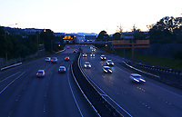 State Highway 1 urban motorway traffic at 6.30am, Wednesday as New Zealand (outside of Auckland) switches down to Level 3 lockdown for the COVID-19 pandemic in Wellington, New Zealand on Wednesday, 1 September 2021.