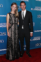 """WESTWOOD, LOS ANGELES, CA, USA - MARCH 22: Mette Ravnkilde Nielsen, Aaron Moulton at the Geffen Playhouse's Annual """"Backstage At The Geffen"""" Gala held at Geffen Playhouse on March 22, 2014 in Westwood, Los Angeles, California, United States. (Photo by Xavier Collin/Celebrity Monitor)"""