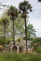 France, Bretagne, (29), Finistère, Presqu'île de Crozon, Landévennec:  demeure prés de l'Ababye // France, Britatny, Peninsula of Crozon, Landévennec: