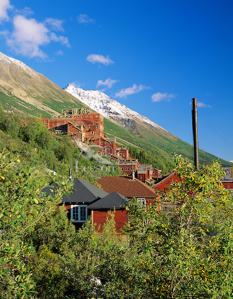 Historical Kennecott Mine, Wrangell-St. Elias National Park and Preserve, Alaska.