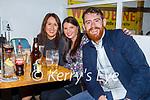 Enjoying the evening in Sean Og's on Friday, l to r: Elaine McGovern, Gina Kelliher and Jordan Murphy.