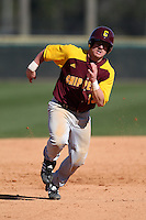 March 7, 2010:  Billy Anderson (13) of the Central Michigan Chippewas during game at Jay Bergman Field in Orlando, FL.  Central Michigan defeated Central Florida by the score of 7-4.  Photo By Mike Janes/Four Seam Images
