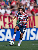 Tobin Heath.  The USWNT defeated Costa Rica, 8-0, during a friendly match at Sahlen's Stadium in Rochester, NY.