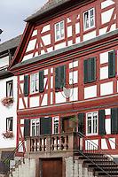 Debon-Haus in Amorbach im Odenwald, Bayern, Deutschland