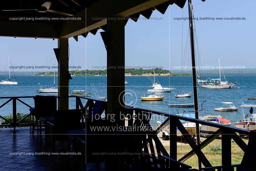 TANZANIA Tanga, yacht club from colonial time