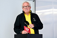 11th February 2021, Auckland, New Zealand;  America's Cup personality Bruno Trouble.  PRADA Cup Final Opening press conference at the PRADA media centre, America's Cup Race Village, Halsey Wharf, Auckland on Thursday 11th February 2021.