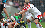 8 September 2012; Ulster prop Callum Black..Celtic League, Round 2, Ospreys v Ulster, Liberty Stadium, Swansea, Wales. Picture credit: Steve Pope / SPORTSFILE
