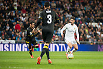 Real Madrid's Isco Alarcon and Sevilla FC's Sergio Escudero and Adil Rami during La Liga match. March 20,2016. (ALTERPHOTOS/Borja B.Hojas)
