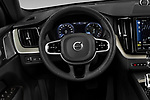 Car pictures of steering wheel view of a 2020 Volvo XC60 Inscription-T8-eAWD-Plug-in-Hybrid 5 Door SUV Steering Wheel