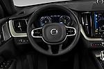 Car pictures of steering wheel view of a 2020 Volvo XC60 Inscription-T8-eAWD-Plug-in-Hybrid 5 Door SUV Steering Wheel