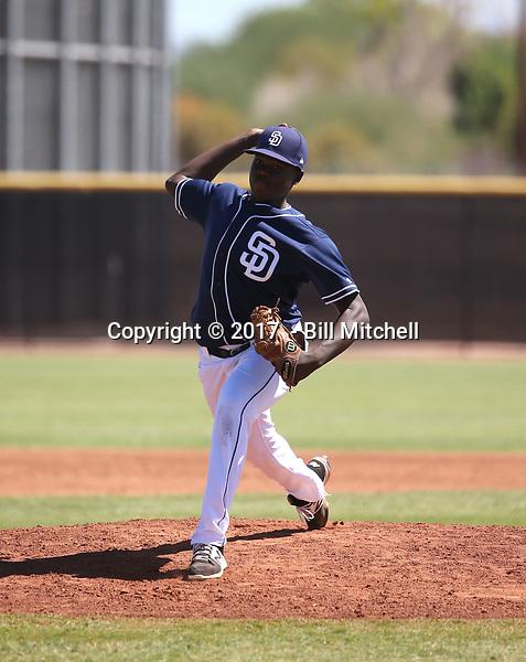 Dauris Valdez - 2017 AIL Padres (Bill Mitchell)