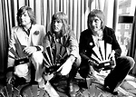 Emerson Lake & Palmer 1972 ELP Greg Lake, Keith Emerson and Carl Palmer<br />© Chris Walter