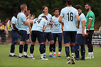 Captain Casper Nielsen (6) of Union gives the instructions to his team mates before preseason friendly soccer game between Tempo Overijse and Royale Union Saint-Gilloise, Saturday 29th of June 2021 in Overijse, Belgium. Photo: SPORTPIX.BE   SEVIL OKTEM