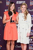Jessica Ennis-Hill and Laura Kenny<br /> at the BT Sport Industry Awards 2017 at Battersea Evolution, London. <br /> <br /> <br /> ©Ash Knotek  D3259  27/04/2017