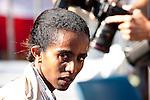 Quad Cities Marathon 2009 women's division winner Buzunesh Deba.