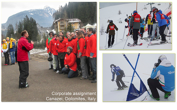 Since I'm equally skilled on and off the slopes, I could photograph outdoor events by day and business dinners at night. <br />