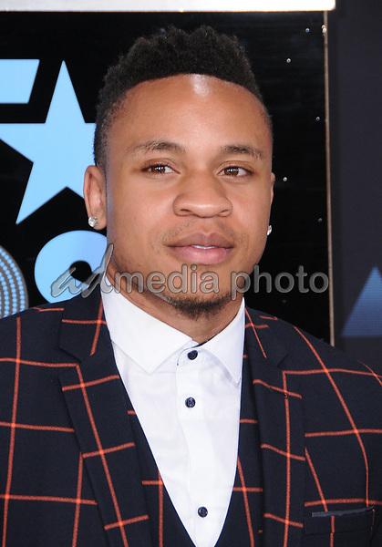25 June 2017 - Los Angeles, California - Rotimi. 2017 BET Awards held at the Microsoft Square in Los Angeles. Photo Credit: Birdie Thompson/AdMedia