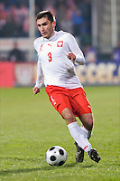 Grzegorz Bronowicki of Poland. The United States defeated Poland 3-0 during an international friendly at Wisla Stadium in Krakow, Poland on March 26, 2008.