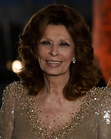 25 September 2021 - Los Angeles, California - Sophia Loren. Academy Museum of Motion Pictures Opening Gala held at the Academy Museum of Motion Pictures on Wishire Boulevard. Photo Credit: Billy Bennight/AdMedia