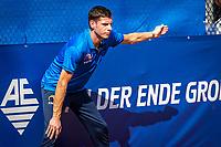 Netherlands, September 12,  2021, Naaldwijk KIA Competition mixed, premier league, LTC Naaldwijk vs TC Leimonias, mens single:  Linesman<br /> Photo: Henk Koster/tennisimages.com