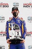 #27: Alexander Rossi, Andretti Autosport Honda, podium
