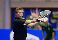 December 18, 2014, Rotterdam, Topsport Centrum, Lotto NK Tennis, Lady's quarter final,   Demi Schuurs (NED)<br /> Photo: Tennisimages/Henk Koster