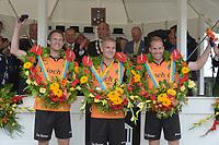 KAATSEN; FRANEKER; It Sjûkelân, 04-08-2021, PC kaatspartij, Taeke Triemstra, Erwin Zijlstra (Koningsprijs) , Gert-Anne van der Bos, ©foto Martin de Jong