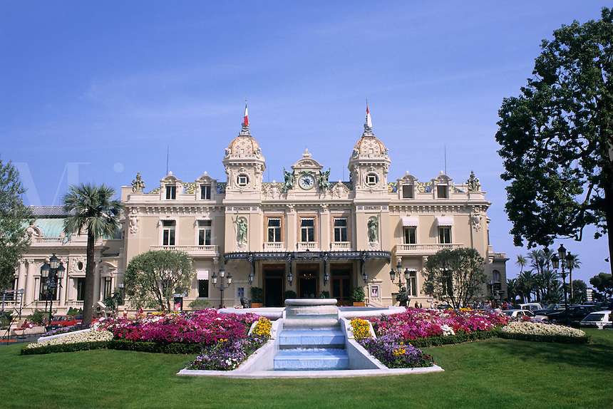 Elegant Monaco Monte Carlo Casino Monoco