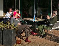 Hilversum, The Netherlands, 05.03.2014. NOVK ,National Indoor Veterans Championships of 2014, sunny outside<br /> Photo:Tennisimages/Henk Koster