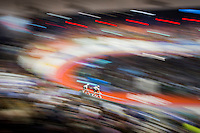 Sir Bradley Wiggins (GBR/Wiggins) slings Mark Cavendish (GBR/Dimension Data) into his fast lap<br /> <br /> 2016 Gent 6<br /> day 6