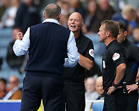 11th September 2021; Ewood Park, Blackburn, Lancashire England; EFL Championship football, Blackburn Rovers versus Luton Town; the fourth official Andy Haines replaces injured referee Oliver Langford