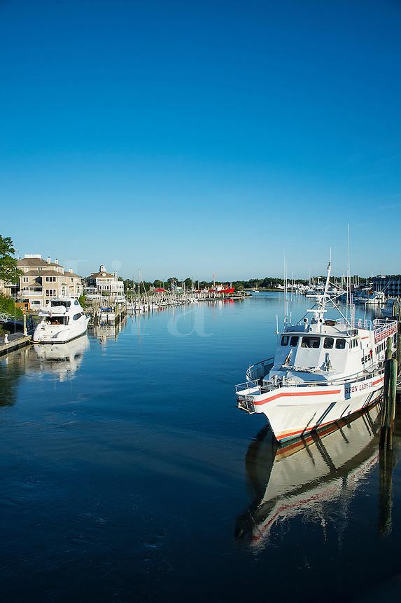 Lewes Harbor, Delaware, USA