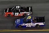 #19: Derek Kraus, McAnally Hilgemann Racing, Toyota Tundra, #15: Tanner Gray, DGR-Crosley, Ford F-150 Ford | Ford Performance