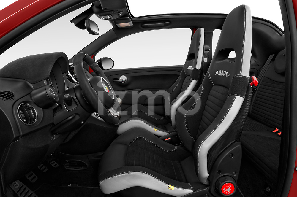 Front seat view of a 2018 Abarth 595 C Competizione 2 Door Convertible front seat car photos