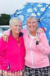 Bolnd bombshells Bridie Chute Listowel and Maggie Hayes Ballybunion enjoying St Pauls BC drive in bingo  in Killarney on Sunday evening