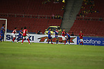 Indonesia vs Laos during the AFF Suzuki Cup 2012 Group B match on November 25, 2012 at the Bukit Jalil National Stadium in Kuala Lumpur, Malaysia. Photo by World Sport Group