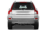 Straight rear view of a 2012 Volvo XC90