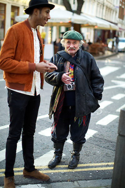 La Touche and a passerby