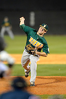 Siena Saints pitcher Neil Fryer #32 during a game against the Central Florida Knights at Jay Bergman Field on February 16, 2013 in Orlando, Florida.  Siena defeated UCF 7-4.  (Mike Janes/Four Seam Images)