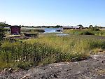Scenic Harbor on the Island of Kökar, Åland, Finland