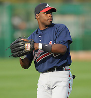 17 March 2009: Will White of the Atlanta Braves at Spring Training camp at Disney's Wide World of Sports in Lake Buena Vista, Fla. Photo by:  Tom Priddy/Four Seam Images