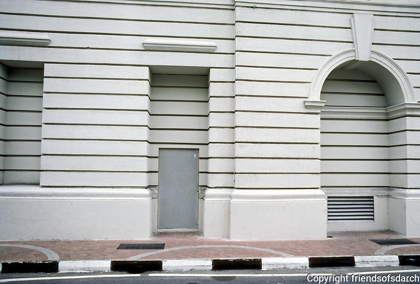 Singapore: Architectural detail. Photo '82.