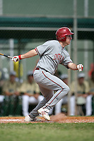 February 22, 2009:  First baseman Jerrud Sabourin (35) of Indiana University during the Big East-Big Ten Challenge at Naimoli Complex in St. Petersburg, FL.  Photo by:  Mike Janes/Four Seam Images