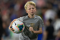SAINT PAUL, MN - JUNE 18:  Ball boy during a 2019 CONCACAF Gold Cup group D match between the United States and Guyana on June 18, 2019 at Allianz Field in Saint Paul, Minnesota.