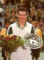 1997, Rotterdam,Richard Krajicek wins ABNAMROWTT