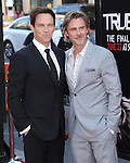 Sam Trammell and Stephen Moyer attends The Los Angeles Premiere for the seventh and final season of HBO's series TRUE BLOOD held at The TCL Chinese Theater in Hollywood, California on June 17,2014                                                                               © 2014 Hollywood Press Agency