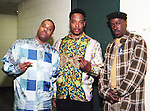 """Whodini in Dallas, Texas at the Reunion Arena on July 20, 1994.  Members: Jalil Hutchins, jOHN """"Ecstasy"""" Fletcher & Drew """"Grandmaster Dee"""" Carter"""