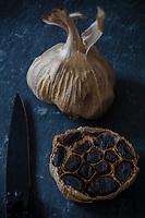 Gastronomie Générale / Diététique / Ail Noir Bio //  General Gastronomy / Diet / Organic Black Garlic